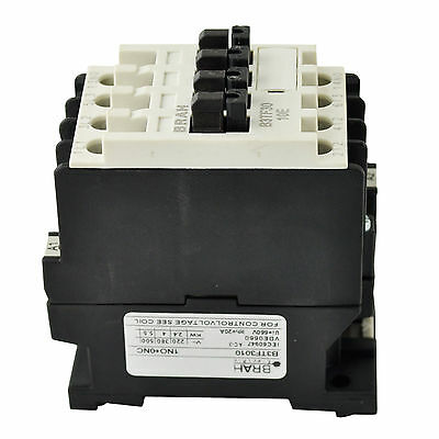 Direct Replacement For Siemens World Series Contactor 3TF31 3TF3110-0AC2 3P 600V 12A Includes 24 Volt AC Coil and a 2 year Warranty