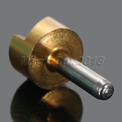 5pc Titanium Coated 1 Flute HSS Countersink Chamfering End Mill Cutter Drill Bit 10