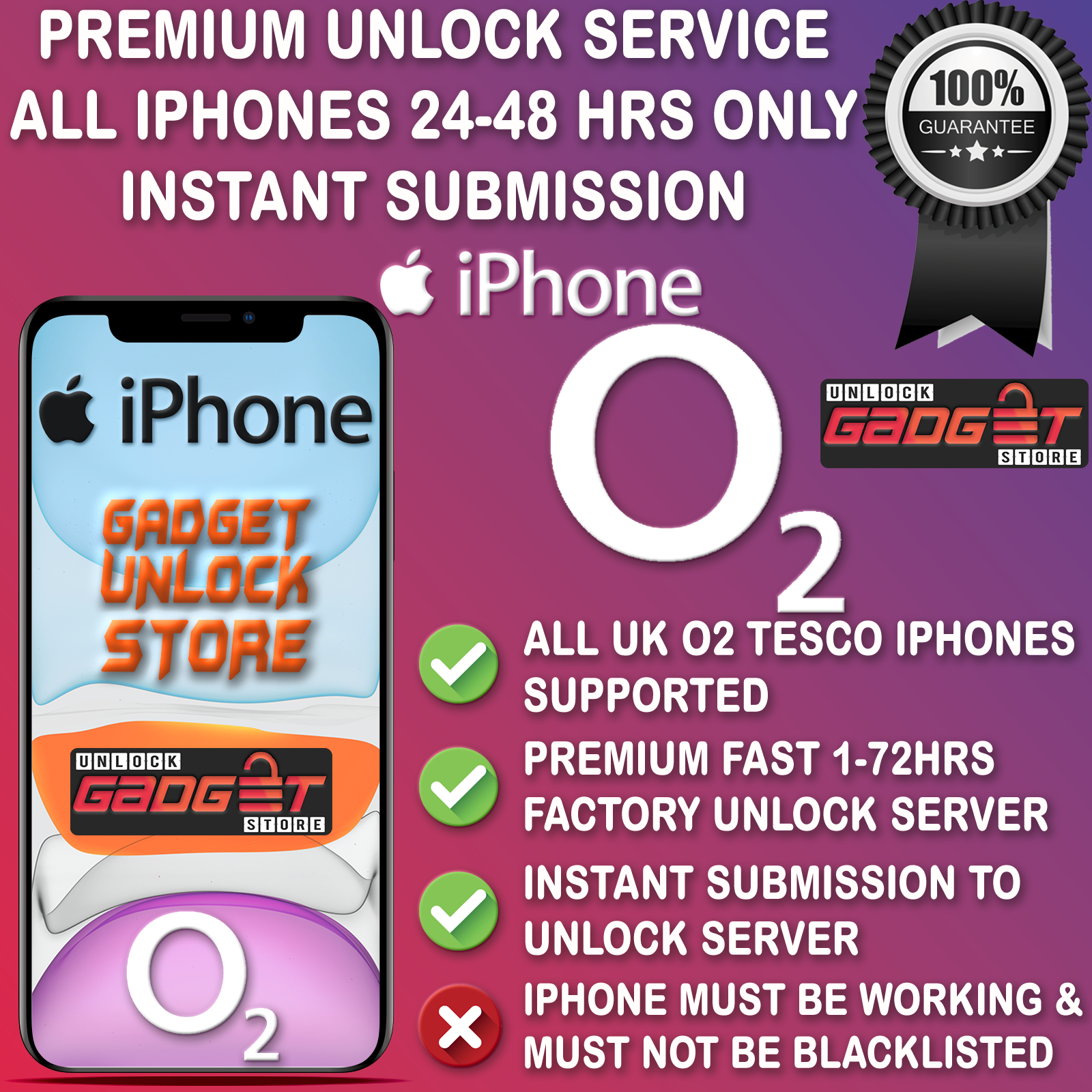 UNLOCK CODE FOR IPHONE 5 5S 5C SE 6 6S 7 8 X XR XS 11 Pro Max O2 TESCO UK UNLOCK 6