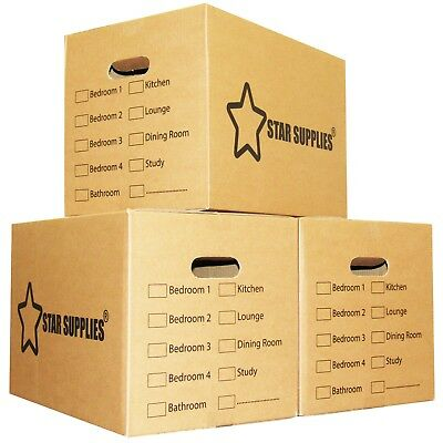 15 x Premium Large Double Wall Cardboard Boxes Moving/Packing Storage Boxes NEW 6