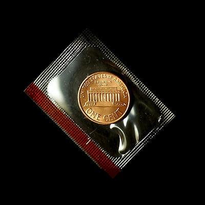 1992 P+D  Lincoln Memorial Penny Set  ~ Uncirculated Coins Original Mint Cello 3