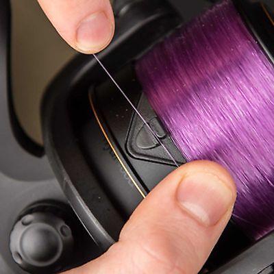 Wychwood Deep Purple Fluro Coated Mono 15Lb Braid For Carp Fishing
