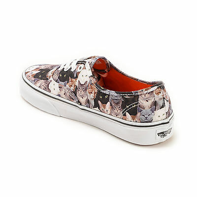 30a2ad8311 ... NEW VANS ASPCA Cat Cats Authentic Print Kitty Animals Mens Sizes RARE