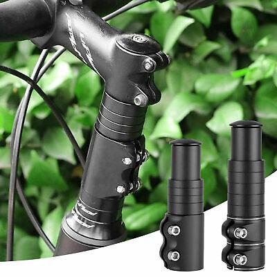 Mountain Bike Handlebar Front Fork Stem Riser Extender 7//10cm Extension Head Up