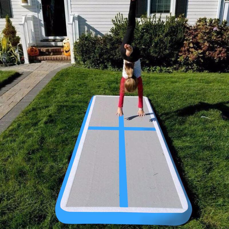 3/4/5/6m Inflatable Air Track Tumbling Gymnastics Mat Tumble Mats with Pump 3