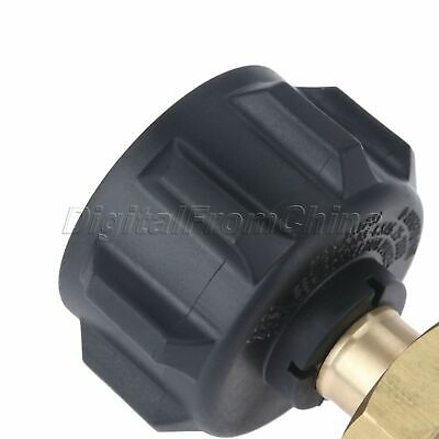 Useful Gas Propane Refill Adapter 1 LB Cylinder Connection QCC1 Regulator Valve 7