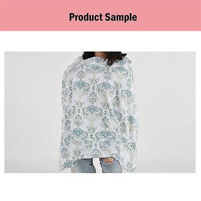 100% Breathable Cotton 3 in 1 Baby Breastfeeding Nursing Cover Generous Blanket 10