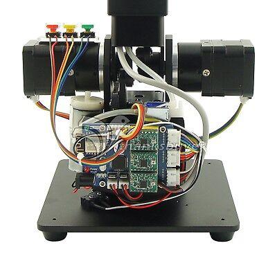 Black Mechanical Robot Arm 3 Axis Production Line Carry Aluminum Alloy 6061 4