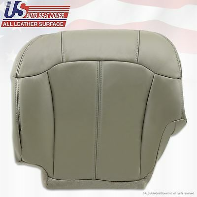 1999 2000 2001 2002 Chevy Tahoe Suburban Upholstery leather seat cover Gray 9