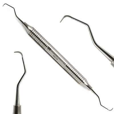 Medentra® Root Canal Gracey Curettes Set of 7 Periodontal Surgical Bone Curette 8