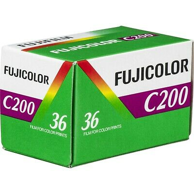 5 Rolls Fuji FujiColor C200 36 200 asa 35mm Color Negative Film, FRESH DATE 3