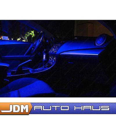 Blue Interior License Plate LED Lights Package Kit Fits Honda Odyssey 2011-2017