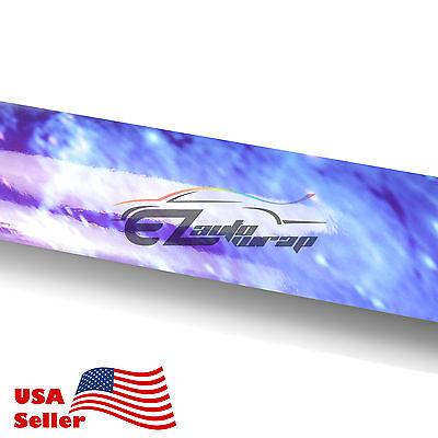 * Gloss Stardust Galaxy Vinyl Wrap Sticker Graphic Decal Sheet Wallpaper DIY S16