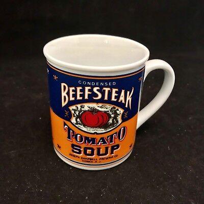 b803756502e VINTAGE CAMPBELL SOUP Company Beefsteak Tomato Soup Mug 125th Anniversary  Mug