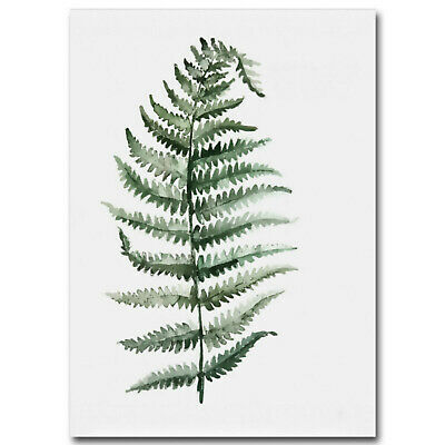 Unframed Tropical Plant Leaf Prints Art Canvas Poster Modern Wall Home Decor 6