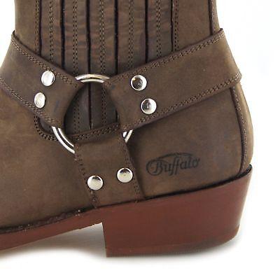 Buffalo Boots Stiefelette 6000 Black Bikerstiefelette für