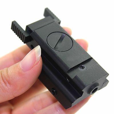 Red Dot Laser sight Tactical 20mm picatinny Weaver rail Mount Pistol Gun