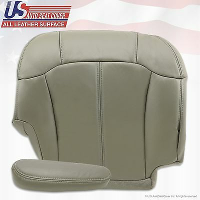 1999 2000 2001 2002 Chevy Tahoe Suburban Upholstery leather seat cover Gray 6