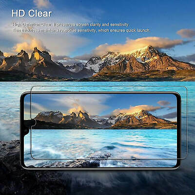 For Samsung Galaxy A40 A50 Full Coverage Tempered Glass Screen Protector Clear 7