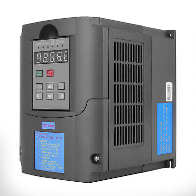 1.5KW 2HP Single To 3 Phase Variable Frequency Drive Inverter CNC VFD VSD 220V 4