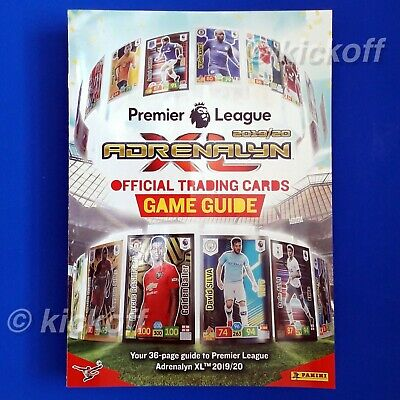 Panini Adrenalyn XL 2019-2020: Starter Pack. Binder and 26 cards. Premier League 4