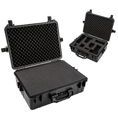 Valise photo caméra transport accessoire protection armes photographie noir 2