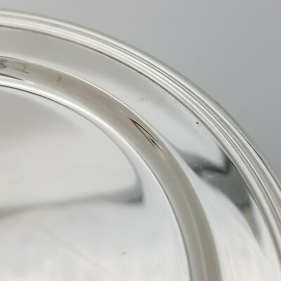 Tiffany & Co. Makers Sterling Silver ~5.5 In Cookie Saucer Bread Charger Plate 8