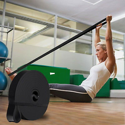 Power Resistance Rubber Band Chin Pull Up Training Exercise Gym - SINGLE BAND/S 4