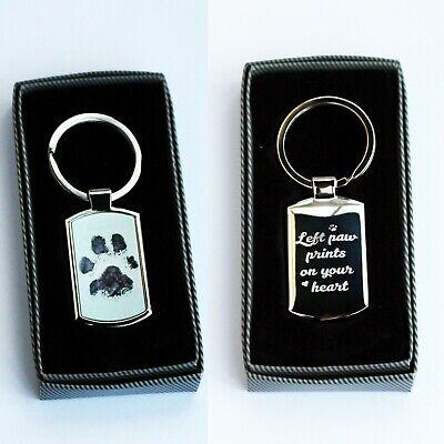 Personalised  Metal Keyring Photo Printed/Engraved Keepsakes collectable Gift ❤❤ 7