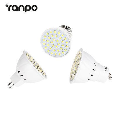 LED Spot Strahler Lampe Leuchtmittel Weiß Warmweiß GU10 E27 MR16 3W 5W 7W 220V 2