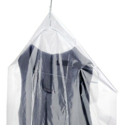 "Hangerworld™ Roll Clear 72"" Polythene Protector Clothes Cover Storage Bag Suit"