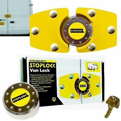 Stoplock for Peugeot Boxer High Security Anti-Theft Van Rear Door Lock + 3 Keys 9