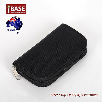 Memory Card Storage Carrying Pouch Case Holder SD SDHC CF Micro TF Wallet Bag 5
