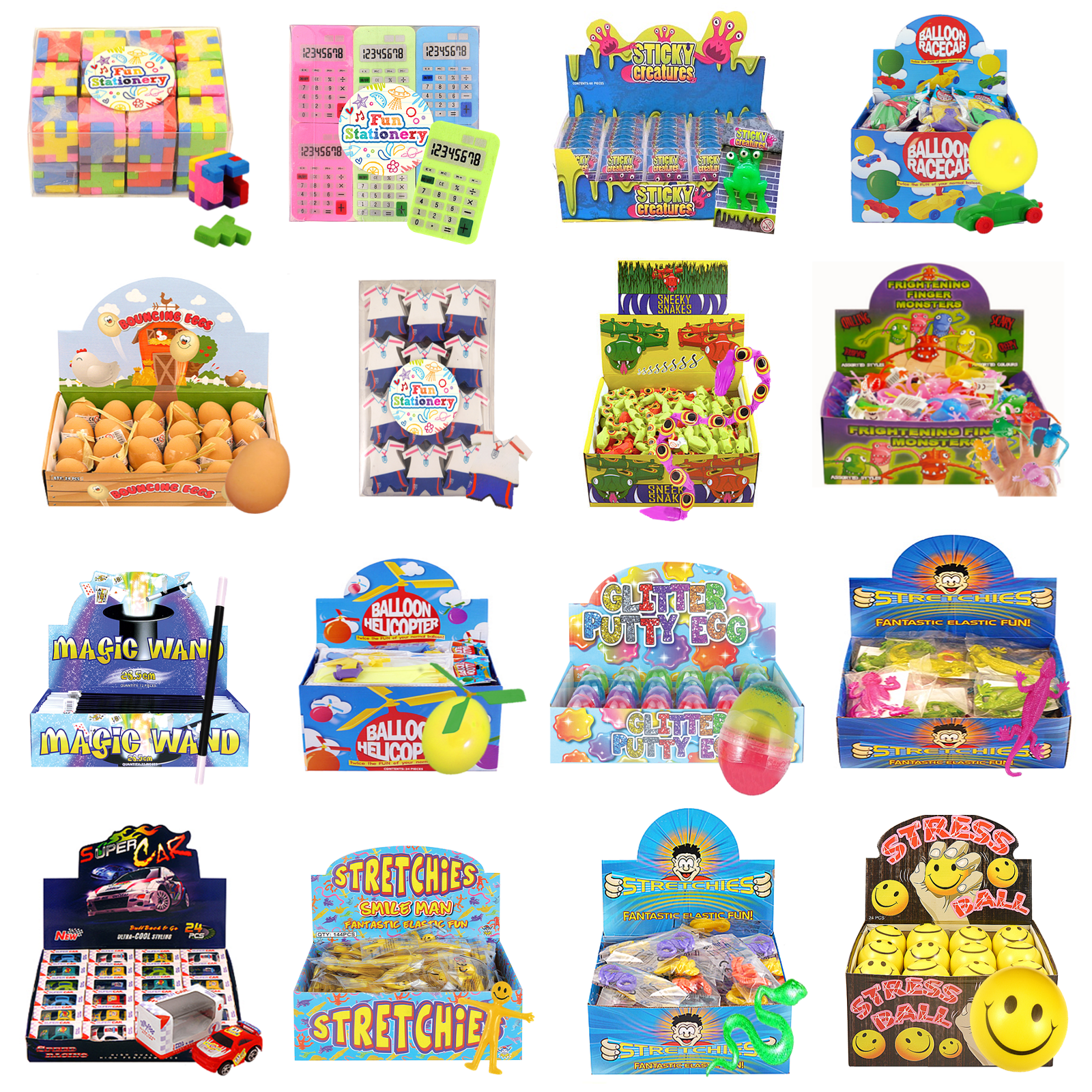 Bulk Buy Job Lot Wholesale Kids Toy Prizes Party Bag Fillers Xmas Fair PTA Event 4
