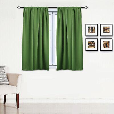 Gardinen Vorhang blickdicht mit Kräuselband Thermo Verdunkelung 250g/m2 #330-a 6