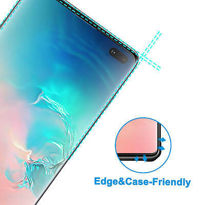 For Samsung Galaxy Curved 3D Tempered Glass Full Screen Protector S10 Plus S10e 3