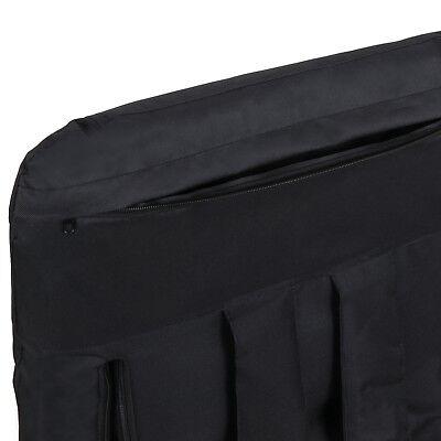 2 PCS Black Stadium Seat Bleacher Chair Cushion - 5 Reclining Positions 9