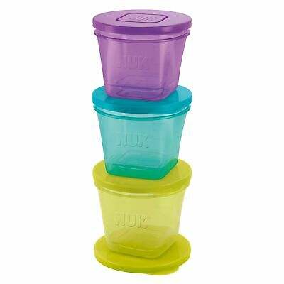 NUK Stackable Storage Pots – Baby/Toddler/Kids Food 2