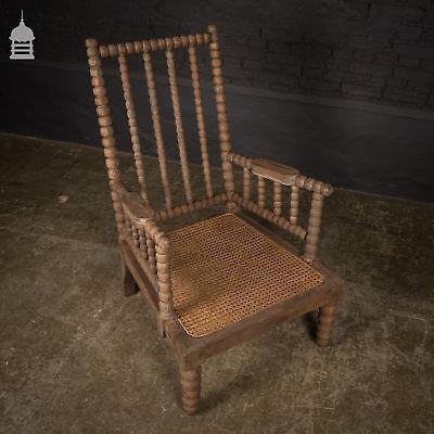 Teak Regency Style Bobbin Turned Easy Chair 6