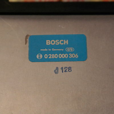 Opel Boitier Electronique Bosch Neuf 0280000306 remplace 0280003307 2