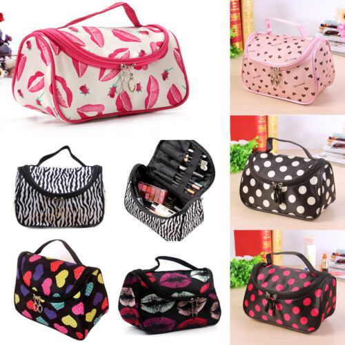 Women Cosmetic Make Up Travel Toiletry Bag Pouch Organizer Handbag Case Storage 3
