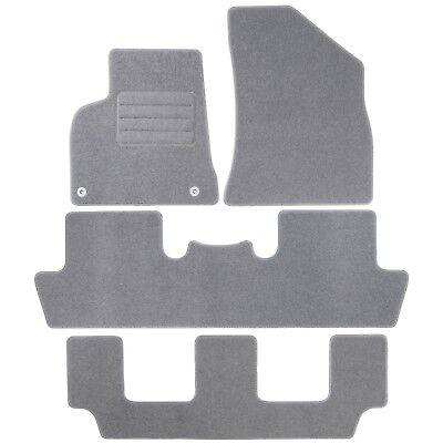 Passgenaue DUNKELBLAU Velours Autoteppiche Mitsubishi Pajero II Bj 1990-2001