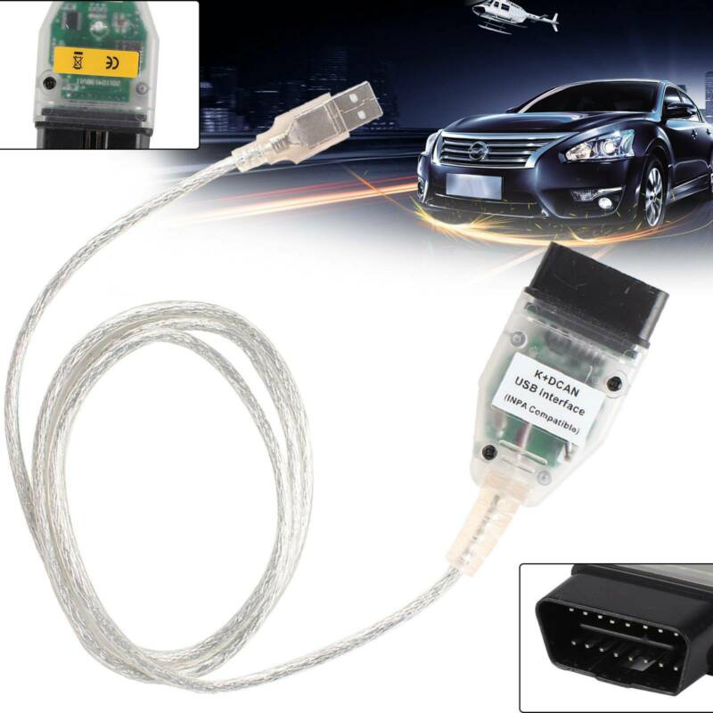 Werkzeuge INPA Ediabas NCS Auto K DCAN OBD-II Diagnose USB Kabel FT232RQ