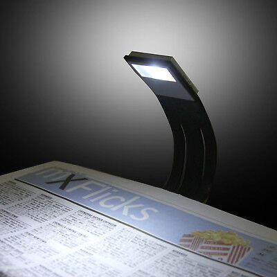 Portable Travel Flexible LED Clamp Clip On Reading Book Light Lamp 3