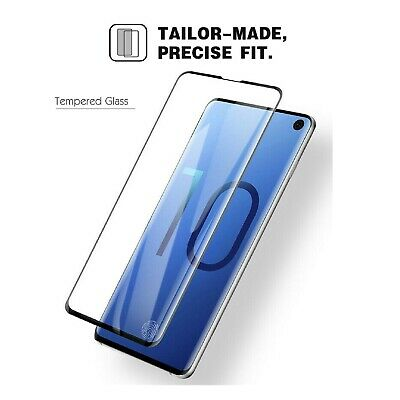 Samsung Galaxy S10 S10e S10 Plus Tempered Glass Screen Protector Film 5D Curve 4