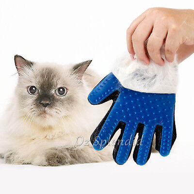 Pet Dog Cat Massage Hair Removal Grooming Comb Touch Cleaning Brush Magic Glove 3