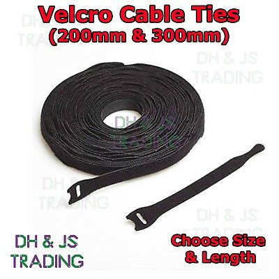 VELCRO® Brand ONE-WRAP® 10 x  25mm x 300mm Cable Tie PINK Double Sided Strapping