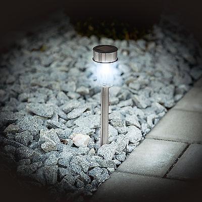 ENSEMBLE 8X LAMPE solaire LED lumière rechargeable jardin éclairage ...