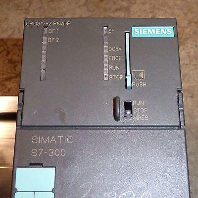 Siemens Simatic S7-300 CPU + DP/DP coupler & industrial UPS DC-USV-Modul 6