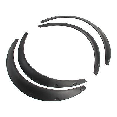Universal 4pcs JDM Fender Wheel Arches Flare extension flares wide Polyurethane 5